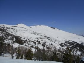 H27 至仏山残雪調査1/定点から