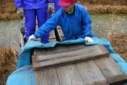 尾瀬ヶ原の橋閉鎖作業を行いました。