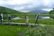 尾瀬ボランティアさんと尾瀬ヶ原に巡回&清掃に行きました
