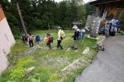 「尾瀬を知る」フィールド講座 「会津沼田街道をたどる」を開催しました