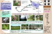 2013年7月21日 白尾・皿伏山の様子