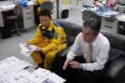 群馬県防災航空隊を取材しました