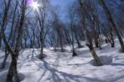 会津駒ヶ岳で機関誌の取材を行いました