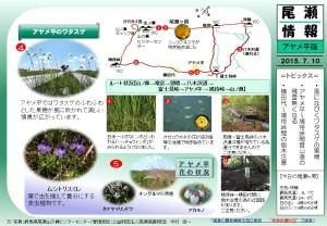 アヤメ平八木沢自然情報(中村)20150710-2