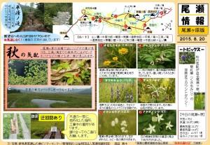 尾瀬ヶ原自然情報20150820(森田)