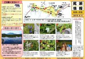尾瀬ヶ原尾瀬情報20150904  (髙堀)