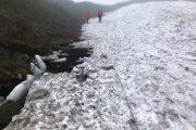 【注意】至仏山の残雪状況について